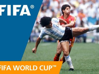 Le show Maradona face à la Belgique