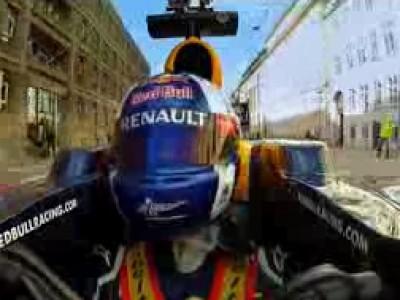 En Formule 1 dans les rues de Copenhague