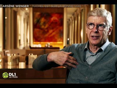 PSG : Wenger adoube Tuchel