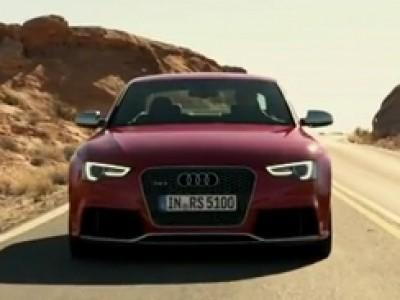 Le son tonitruant de l'Audi RS5 2012