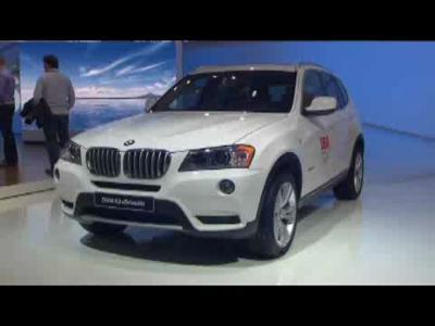 Détroit 2011 : ambiance sur le stand BMW