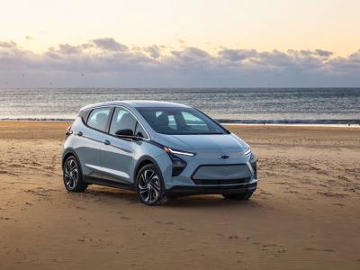 Nouvelle Chevrolet Bolt EV (2022) : la compacte électrique en vidéo