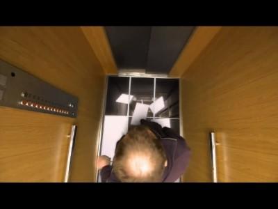 L'ascenseur de la peur !