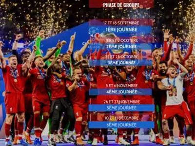 Ligue des Champions : calendrier et résultats de l'édition 2019 / 2020