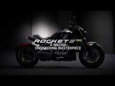 Teaser Triumph Rocket 3 2020 : trois cylindres et 2 500cc