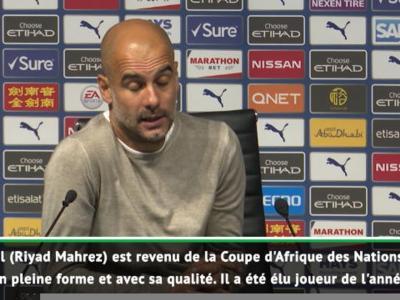 """Guardiola : """"Mahrez a quelque chose de spécial"""""""