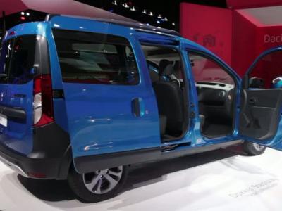 Mondial Auto 2014 : Dacia Dokker Stepway