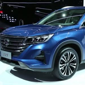 Mondial de l'Auto 2018 : la GAC GS5 en vidéo