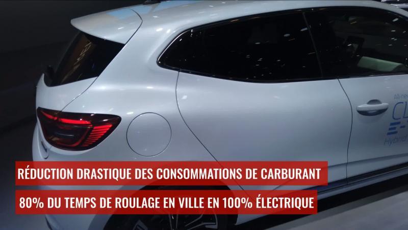 Renault Captur E-Tech : l'hybride rechargeable en vidéo au Brussels Motor Show 2020