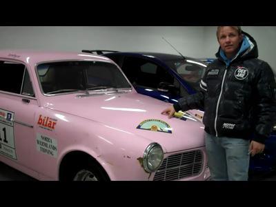 Le garage privé de Peter Solberg