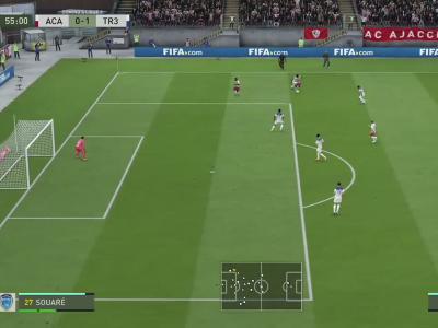 AC Ajaccio - ESTAC Troyes sur FIFA 20 : résumé et buts (L2 - 37e journée)