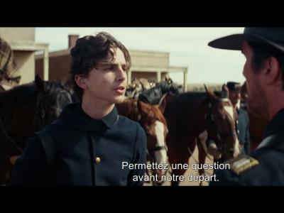 """Hostiles - """"Face-à-face"""" avec Timothée Chalamet"""