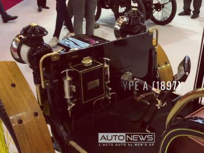 Rétromobile 2018: Renault Type A (1898)