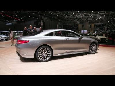 Genève 2014 : Mercedes Classe S Coupé