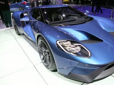 La nouvelle Ford GT découvre l'Europe