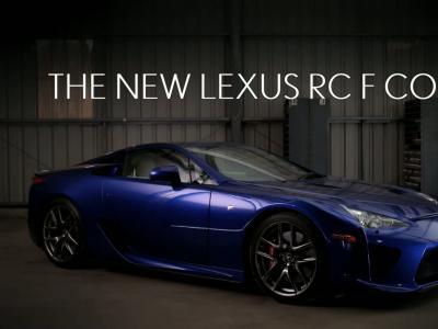 Lexus diffuse son passage en RC F pendant le festival de Goodwood