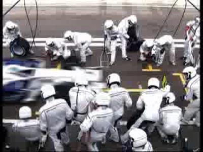 BMW Sauber F1 2008 - Pitstop