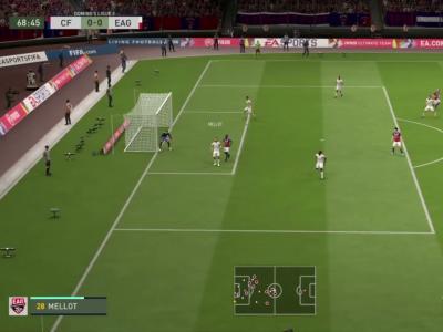 Clermont Foot 63 - En Avant Guingamp sur FIFA 20 : résumé et buts (L2 - 30e journée)