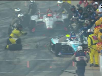 IndyCar : un mécanicien fauché lors d'un arrêt au stand