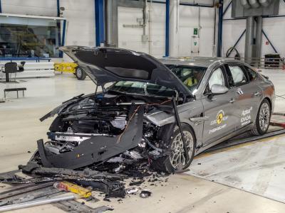 EuroNCAP : le crash-test 5 étoiles du Genesis G80