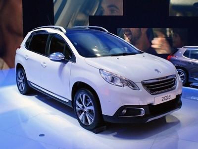 Genève : Peugeot 2008