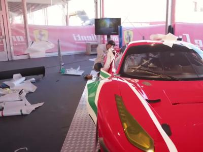 La Ferrari 488 se dévoile dans ses versions course