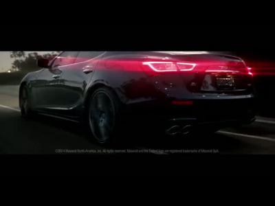 Superbowl : la Maserati Ghibli, première italienne présentée durant la pause