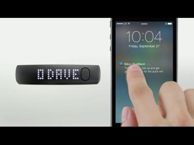Nike présente un bracelet qui mesure notre activité physique