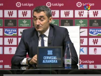 """Grenade - Barça: Valverde """"se sent responsable"""" !"""