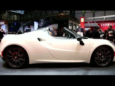 Genève 2014 : Alfa Romeo 4C Spider Concept