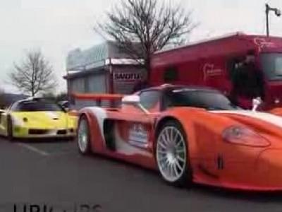 Duel entre la Maserati MC12 Corsa et la Ferrari Enzo ZXX sur le Nürburgring