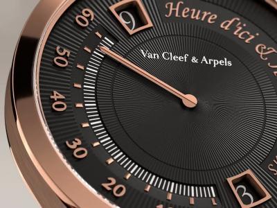 Van Cleef & Arpels, Midnight Heure d'Ici & d'Ailleurs