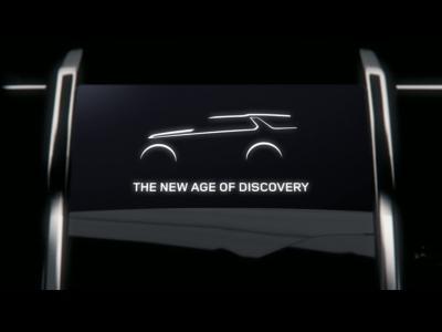 Le nouveau Land Rover Discovery sera dévoilé à New-York