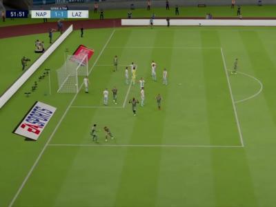SSC Napoli - Lazio Rome sur FIFA 20 : résumé et buts (Serie A - 38e journée)