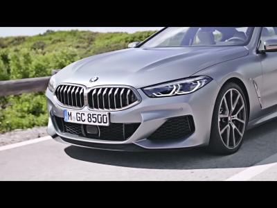BMW Série 8 Gran Coupé : la vidéo officielle de présentation