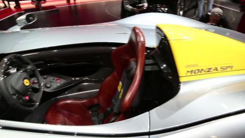 Mondial de l'Auto 2018 : la Ferrari Monza SP1 en vidéo