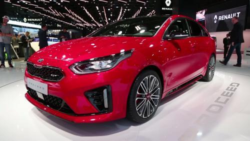 Mondial de l'Auto 2018 : la Kia Proceed en vidéo