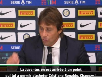 Inter : La réaction d'Antonio Conte en vidéo