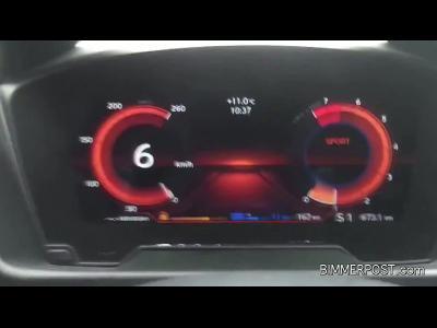 Le 3 cylindres de la BMW i8 chante comme un V8
