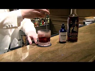 Démonstration de cocktail par Maxime Hoerth