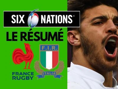 France - Italie : résumé et essais du match en vidéo