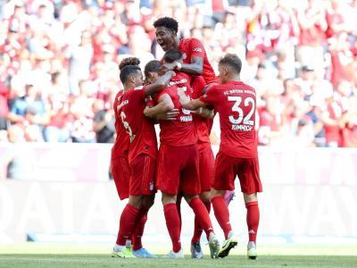 Bundesliga : Un set pour le Bayern, Coman et Pavard buteurs