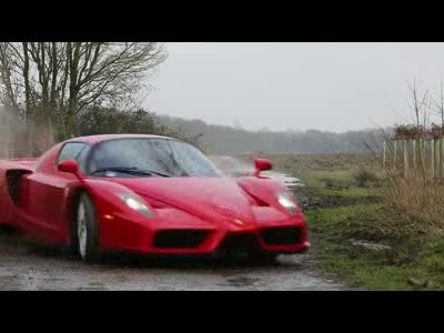 The Ferrari Enzo en WRC ?