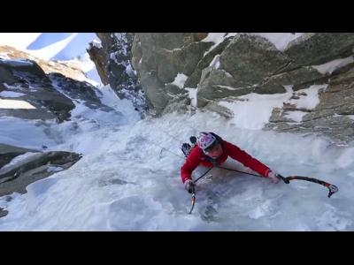 Ascension du super couloir du Mont-Blanc