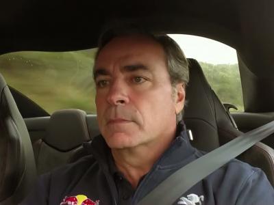 Carlos Sainz nous donne son avis de pilote à bord du Peugeot RCZ R