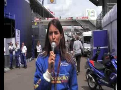 24h du Mans avec Margot Laffite