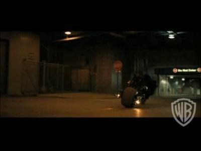 The Dark Knight en DVD - Bonus Voici Batman