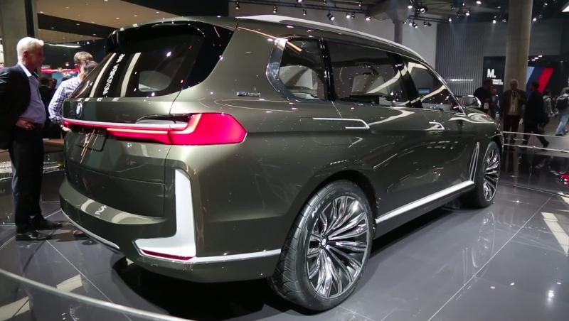Vido Francfort 2017 Bmw X7 Iperformance Concept