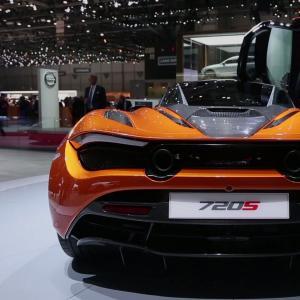 Genève 2017 : McLaren 720S