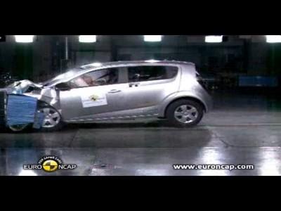 Crash test : Chevrolet Aveo